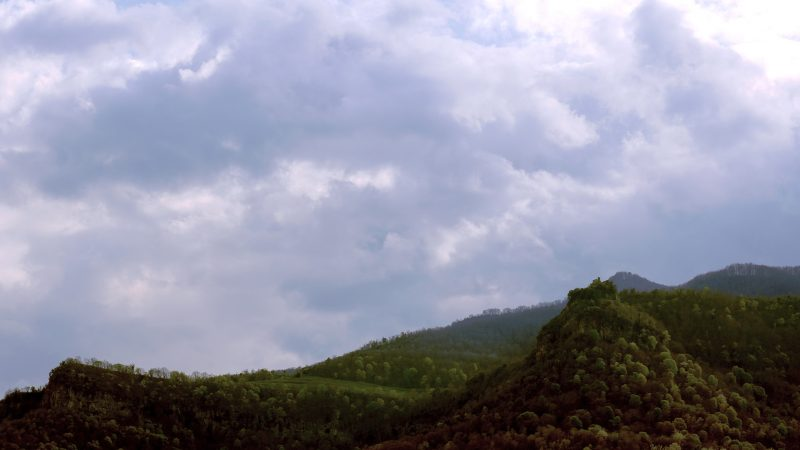 Mountain sant miguel HDR